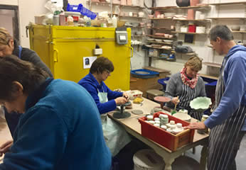 Pottery classes in Braintree area
